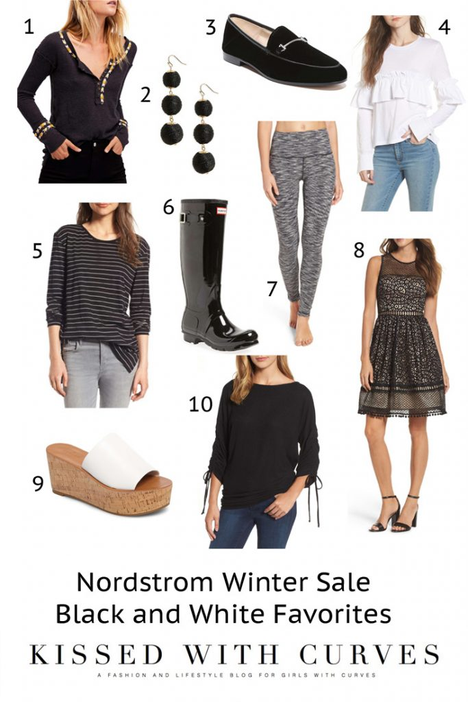 Nordstrom Winter Sale Black And White Favorites