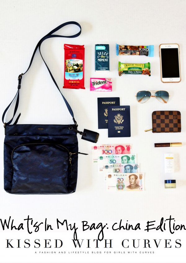 What's In My Bag: China Edition