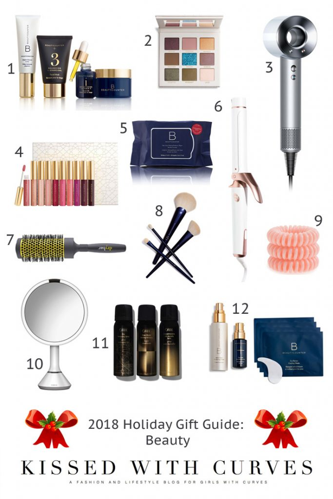2018 Holiday GIft Guide - Beauty | Kissed With Curves